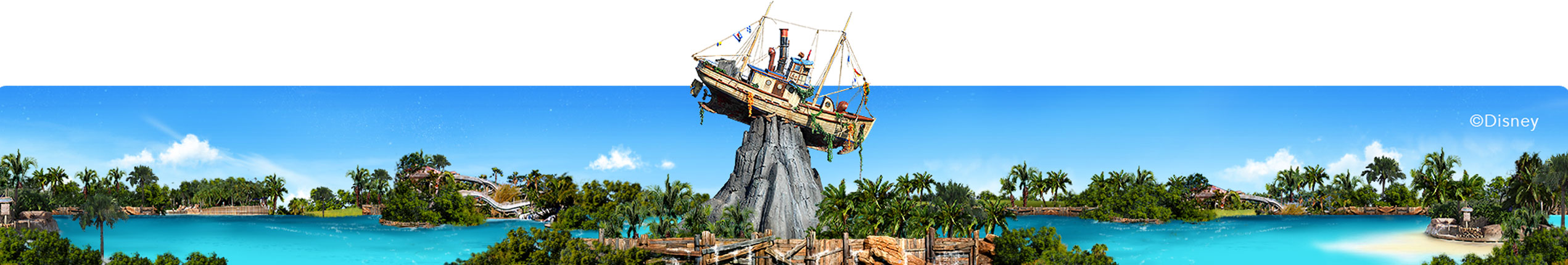 A panoramic view of a theme park or resort (Image #1)
